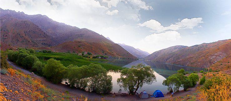 دریاچه گهر (طبیعت بکر و آرام)