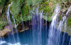 تور آبشار آب ملخ تا چشمه ناز ۶ الی ۸ تیر