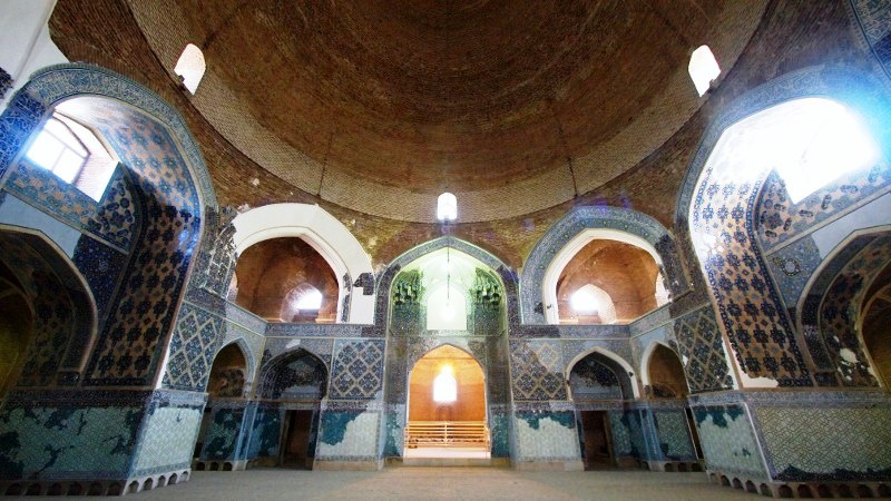 تور مسجد کبود تبریز