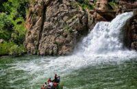 آبشار بل جاذبه دیدنی اورامان