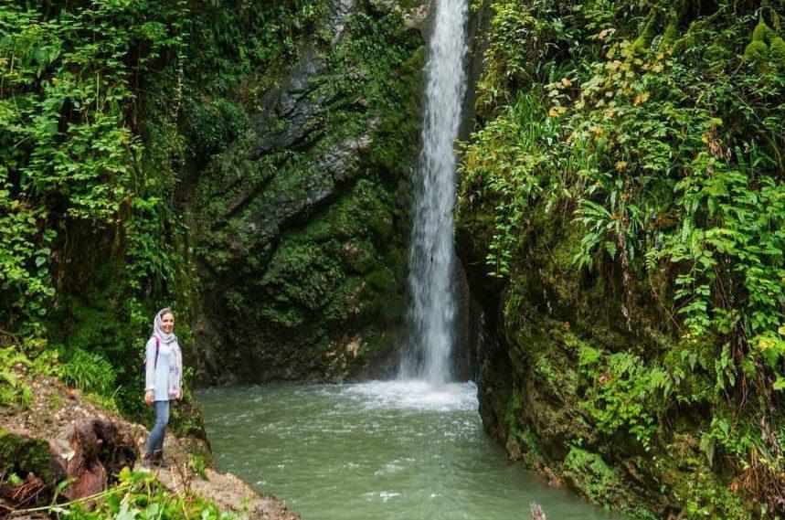 تور آبشار سنگ درکا ۱۵ مرداد